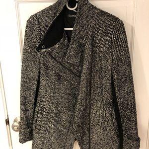 Express asymmetrical coat